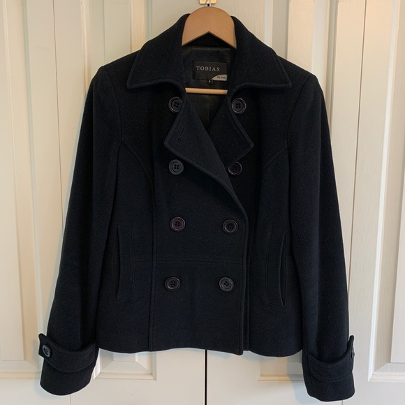 Thick Wool Pea Coat
